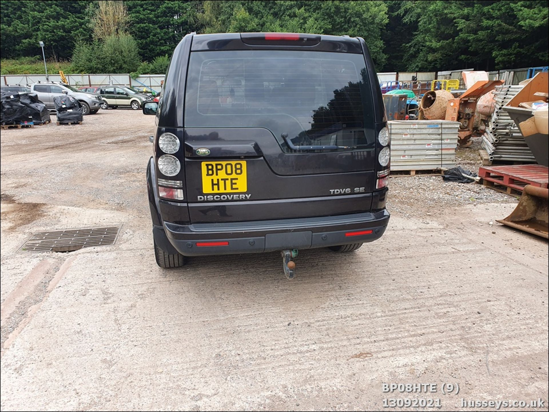 08/08 LAND ROVER DISCOVERY TDV6 SE A - 2720cc 5dr Estate (Brown, 190k) - Image 9 of 18