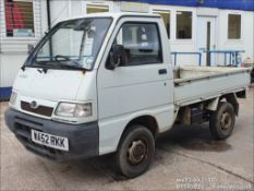 02/52 DAIHATSU HI-JET 1300 16V EFI - 1296cc 2dr Van (White)