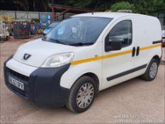 12/62 PEUGEOT BIPPER SE HDI - 1248cc 5dr Van (White, 97k)