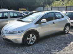 07/57 HONDA CIVIC ES I-VTEC - 1799cc 5dr Hatchback (Silver, 100k)