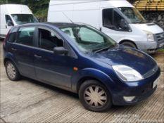 04/04 FORD FIESTA GHIA - 1388cc 5dr Hatchback (Blue, 132k)