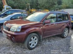 06/06 NISSAN X-TRAIL COLUMBIA DCI - 2184cc 5dr Estate (Red)