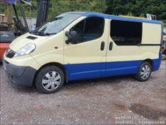 08/58 VAUXHALL VIVARO SPORTIVE CDTI SWB - 1995cc 5dr Van (Blue, 128k)