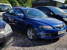 07/07 MAZDA 6 TS - 1999cc 5dr Hatchback (Blue)