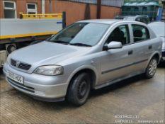 03/03 VAUXHALL ASTRA CLUB 8V - 1598cc 5dr Hatchback (Silver)