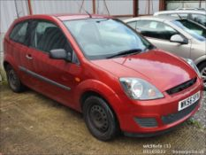 06/56 FORD FIESTA STYLE CLIMATE - 1242cc 3dr Hatchback (Red)