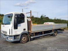 08/58 IVECO EUROCARGO ML75E16 - 3920cc 2dr Flat Bed (White, 326k)