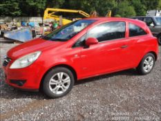 08/58 VAUXHALL CORSA ACTIVE ECOFLEX CDTI - 1248cc 3dr Hatchback (Red, 89k)