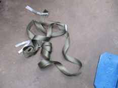 PAIR OF APPROX 1 TON LIFTING STRAPS