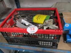 BOX OF CHAINSAW PARTS