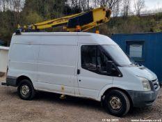 08/58 FORD TRANSIT 100 T350M RWD - 2402cc Van (White, 130k)