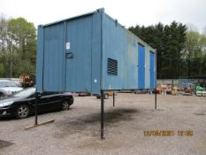 20FT WELFARE CONTAINER (BUYER TO SEND HIAB FOR LOADING)