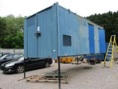 APPROX 20FT X 9FT WELFARE CONTAINER (BUYER TO SEND HIAB)