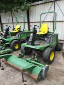 JOHN DEERE 1400 SERIES 4WD DIESEL C.W MAJOR OUTFRONT FLAIL