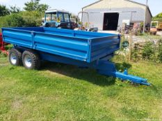 7 TON DROPSIDE TIPPING TRAILER (NEW BODY)