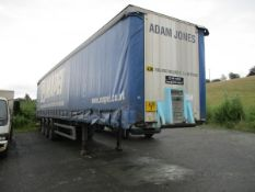 CURTAIN SIDE TRAILER C/W TAIL LIFT