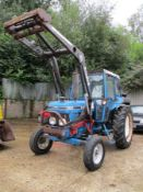 FORD 5610 TRACTOR C/W QUICKE LOADER D941NTA 7052HRS