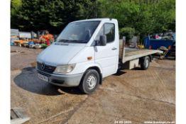 2000 MERCEDES 316 SPRINTER - 2698cc 2dr Flat Lorry (White, 167k)