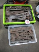 HORNBY 3 RAILWAY TRACK APPROX 114 PIECES