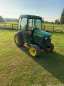 JOHN DEERE 4400 CABBED COMPACT TRACTOR 2002 PICK UP HITCH GWO