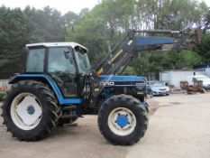 FORD 8340 TRACTOR C.W HOWARD LOADER SHOWING 2477HRS L241NFL