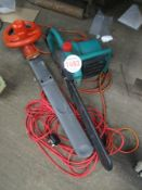 ELECTRIC CHAINSAW & HEDGETRIMMER