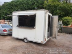 FULLY EQUIPPED CATERING TRAILER C/W BAKED POTATO OVEN.