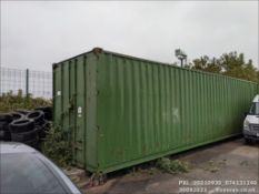 40' CONTAINER. CONTENTS NOT INCLUDED. *** LOCATED EX20 1UF ***