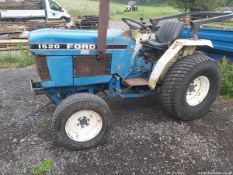 FORD 1520 COMPACT 4WD TRACTOR C.W ROLL BAR 2274HRS SRD PTO & HYDRAULICS WORKING 3 LEVER SPOOL VALVE