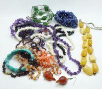Gemstone set jewellery
