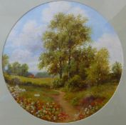 Six assorted English School oil paintings (19th/early 20th Century), all framed