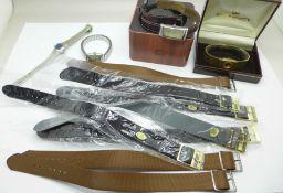 Fashion wristwatches and wristwatch straps