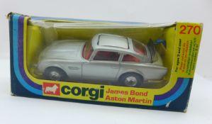 A Corgi Toys no.270 James Bond 007 Aston Martin, boxed
