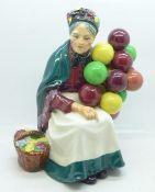 A Royal Doulton figure, The Old Balloon Seller, H1315, 20cm