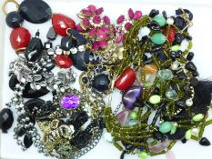 Eight statement necklaces