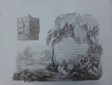 A folio of eleven prints, A Series of Picturesque Views of the River Thames, From the Drawings of