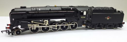 A Hornby Railways Top Link R.864 BR 2-10-0 locomotive Class 9F, boxed