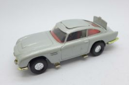 A Corgi Toys Aston Martin DB5 007 model vehicle