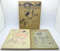 Three children's books, Cautionary Tales For Children and The Bad Child's Book of Beasts, by