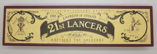 A Britains Special Collections Edition, The Empress of India's 21st Lancers, boxed