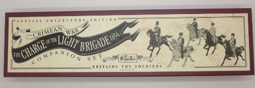 A Britains Special Collectors Edition Charge of the Light Brigade 1854 set, boxed