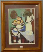 A Pablo Picasso print, framed, 84 x 68cms (including frame)