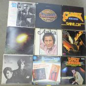A collection of LP records, Elvis Presley, Little Richard, Roy Orbison, etc., (22)