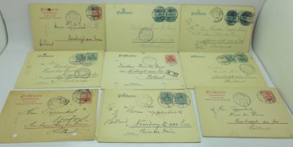 A collection of pre-WWI postcards from Germany to Holland (19)