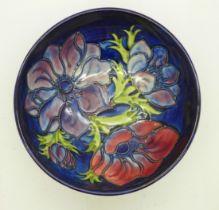 A Moorcroft Anemone bowl, 15.5cm