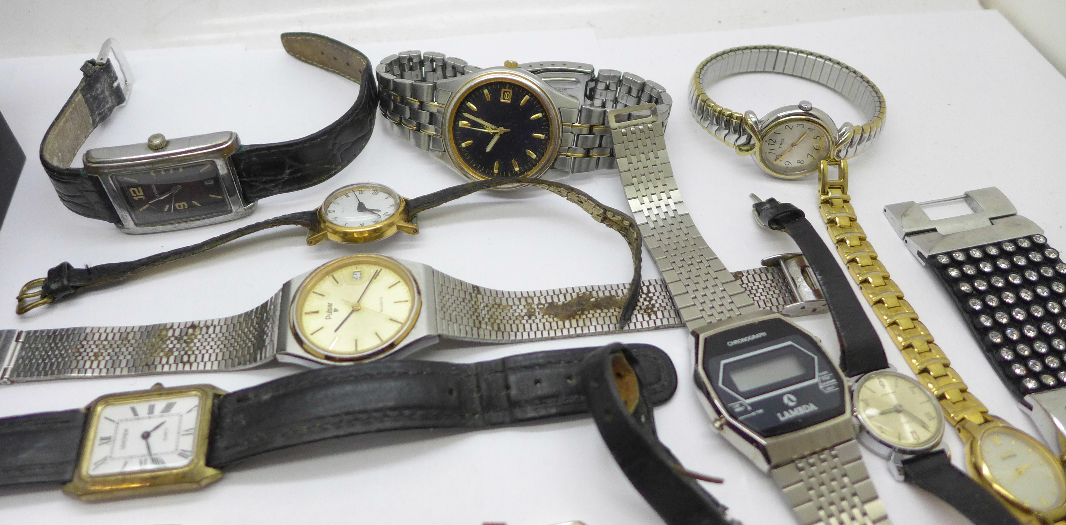 Wristwatches including Sekonda, Seiko, Ingersoll, Rotary, etc. - Image 2 of 5
