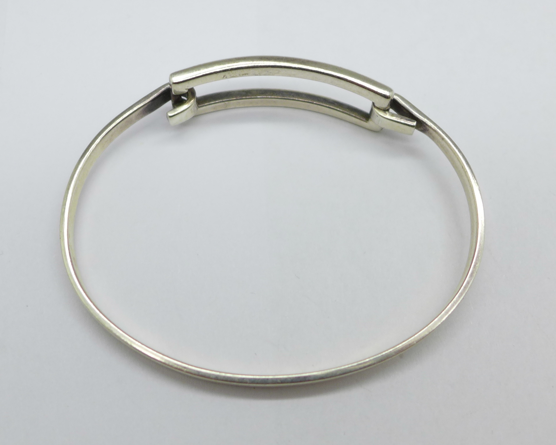 A silver Tiffany bangle, 15g - Image 2 of 3