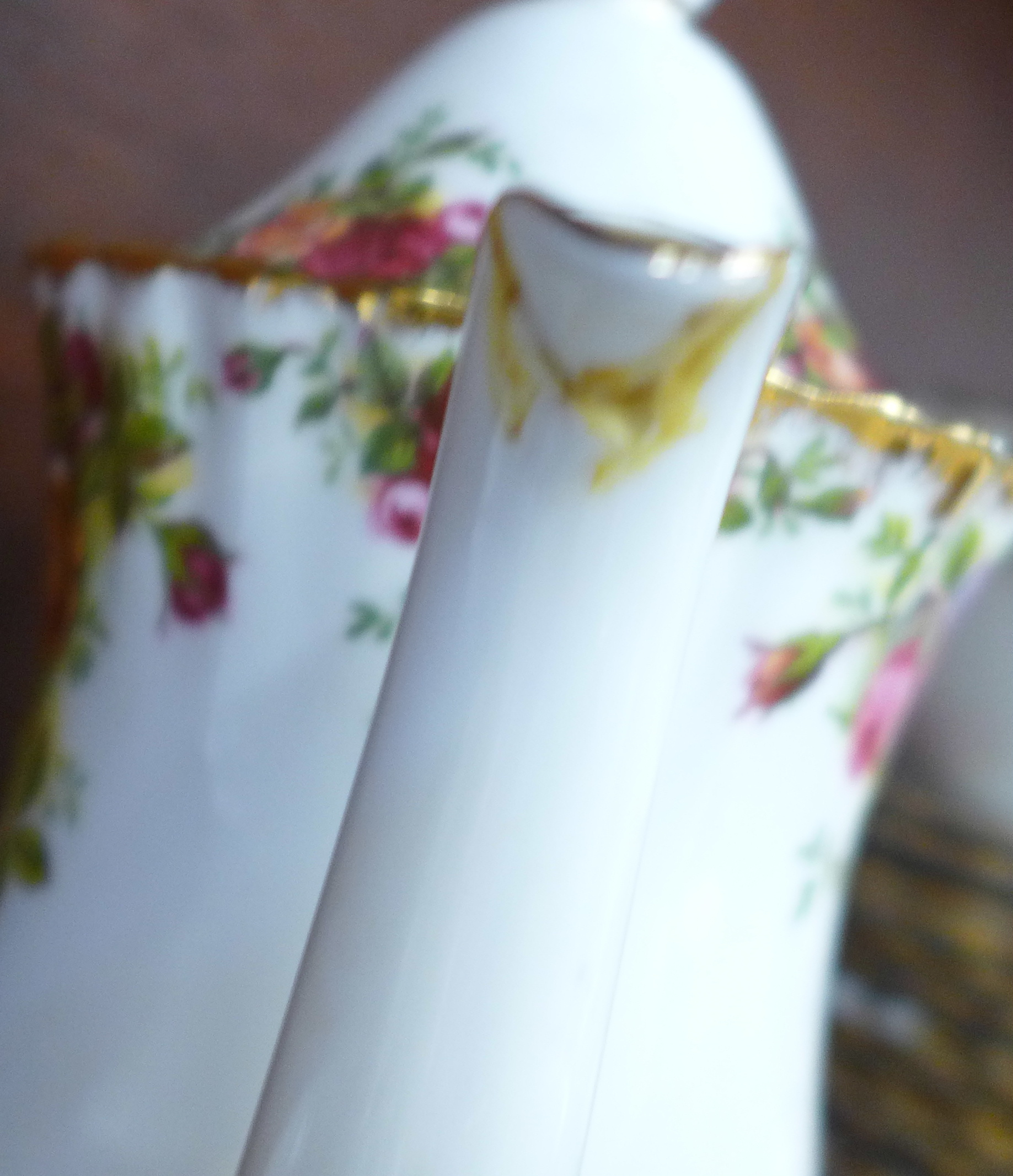 Royal Albert Old Country Roses china:- coffee pot, thirteen cups, fourteen saucers, eighteen side - Image 7 of 7