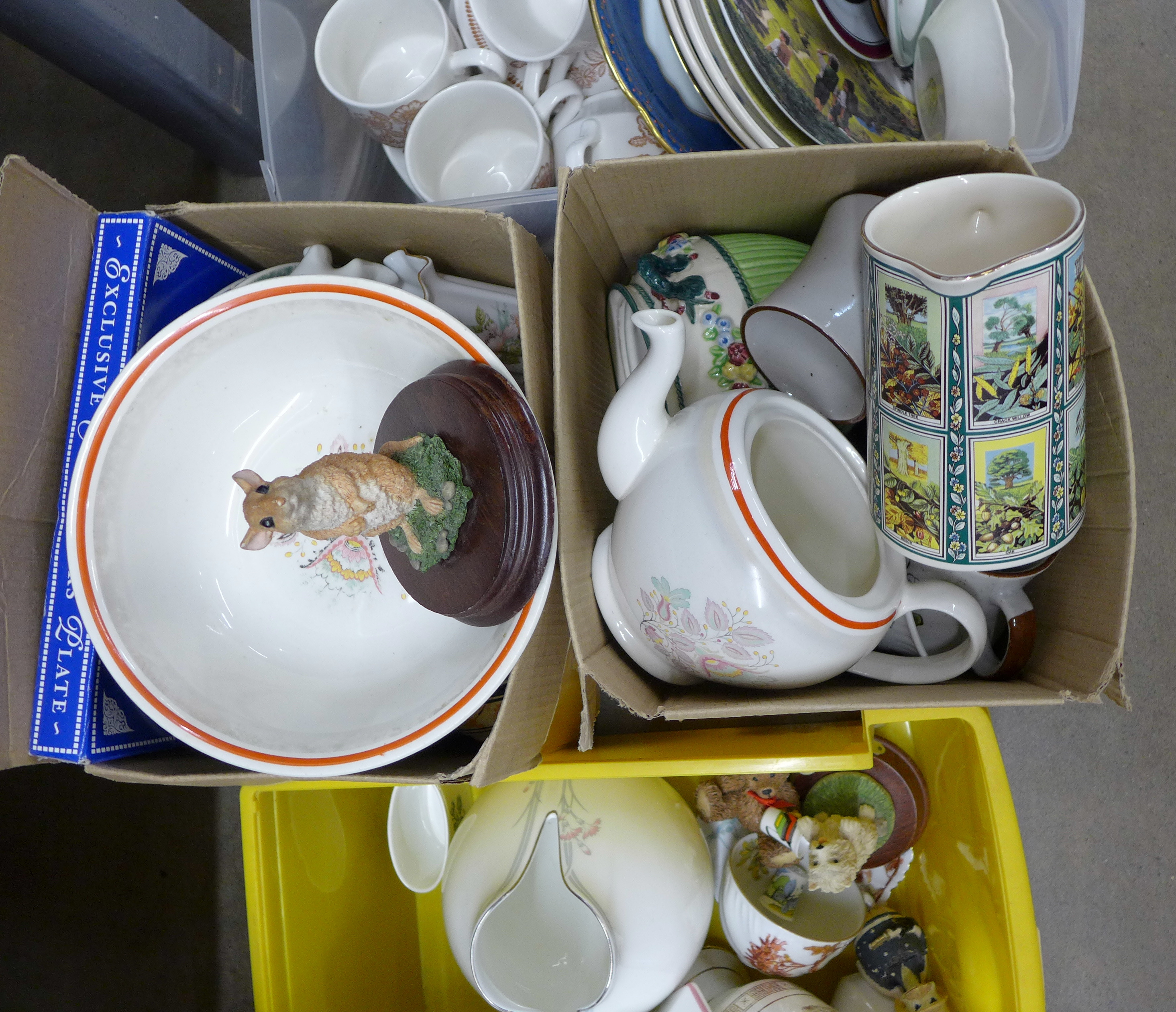A collection of mixed china including Royal Doulton, Limoges and Hammersley and two Lord of the - Image 3 of 4