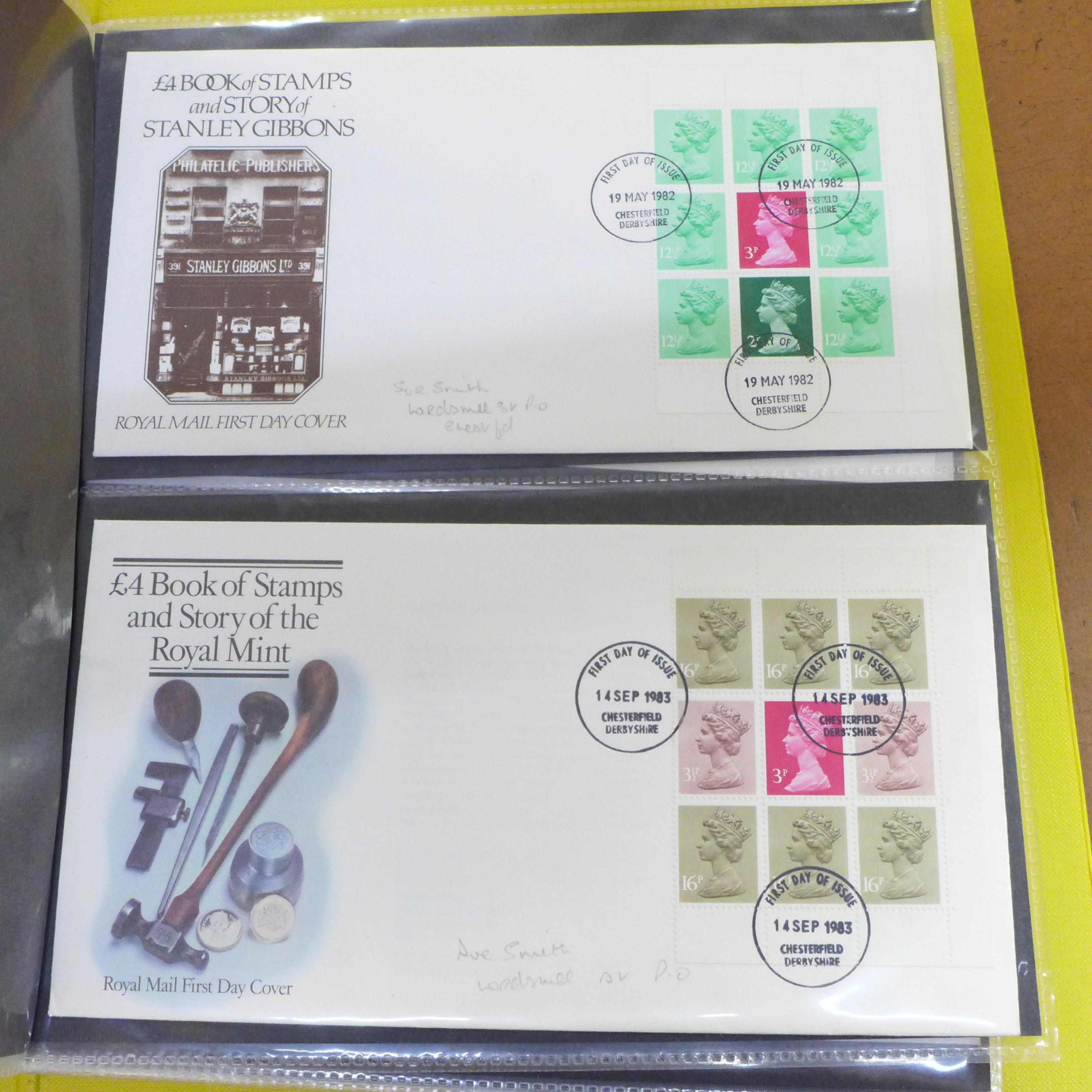 Great Britain booklets, booklet panes and booklet First Day covers - Face value exceeds £40 - Image 6 of 12